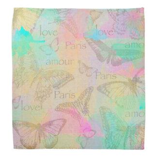 Coil Paris love Bandana butterfly