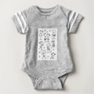 Coil relationship baby bodysuit