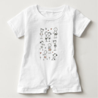 Coil relationship baby romper