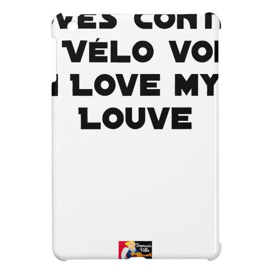 Coiled against a Stolen Bicycle, I Coils my Louve Case For The iPad Mini