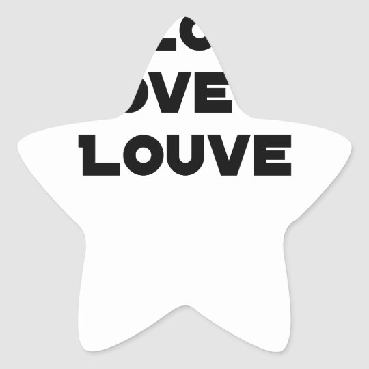 Coiled against a Stolen Bicycle, I Coils my Louve Star Sticker