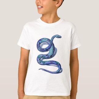 Coiled Blue Snake T-Shirt