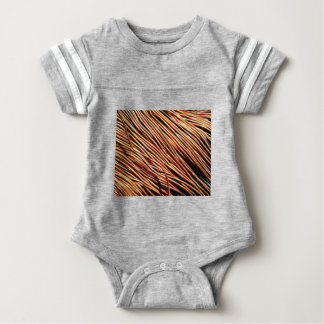 coils of the electric motor baby bodysuit