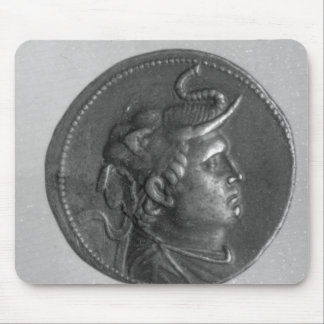 Coin minted by Ptolemy I Mouse Pad