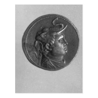 Coin minted by Ptolemy I Postcard