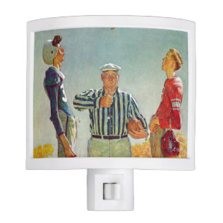 Coin Toss by Norman Rockwell Nite Lights