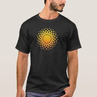CoinBeyond Tshirt - Sacred Geometry Sunshine
