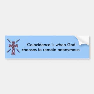 Coincidence - Bumper Sticker