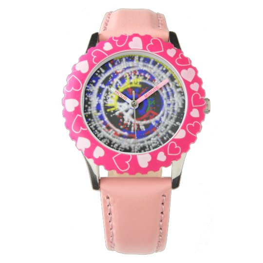 Coink hearts kids watch swirl