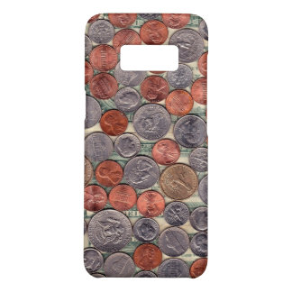 Coins and currency phone case