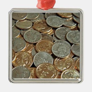 Coins Metal Ornament