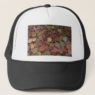 coins trucker hat