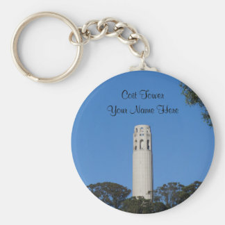 Coit Tower, San Francisco #6 Keychain