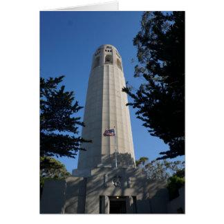 Coit Tower, San Francisco Card