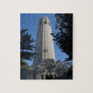Coit Tower, San Francisco Jigsaw Puzzle