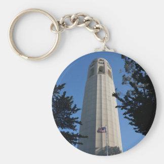 Coit Tower, San Francisco Keychain