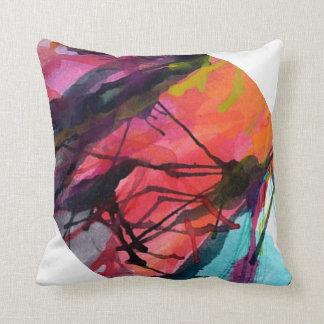 Cojín textura artística almohadas