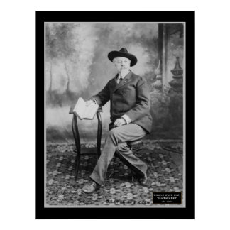 Col. Wm F. Buffalo Bill Cody 1907 Poster