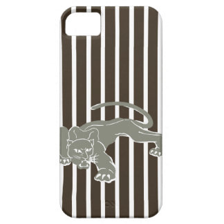 Cola Safari Stripe with Leopard iPhone 5 Covers