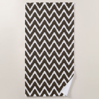 Cola Southern Cottage Chevrons Beach Towel
