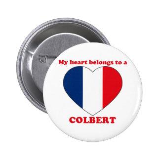 Colbert 2 Inch Round Button
