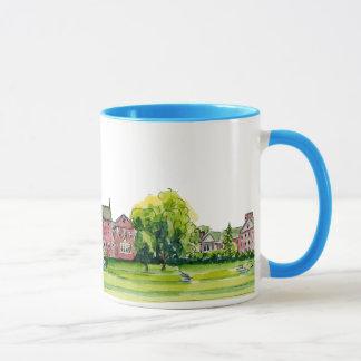 colby college mug