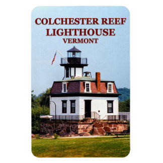 Colchester Reef Lighthouse, Vermont Flexi Magnet