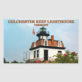 Colchester Reef Lighthouse, Vermont Stickers