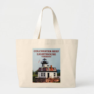 Colchester Reef Lighthouse, Vermont Tote Bag