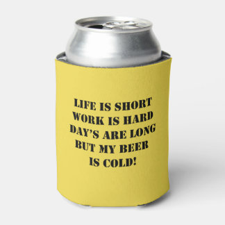 Cold Beer Can Cooler