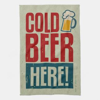 Cold Beer Kitchen Towel