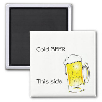 Cold Beer Magnet