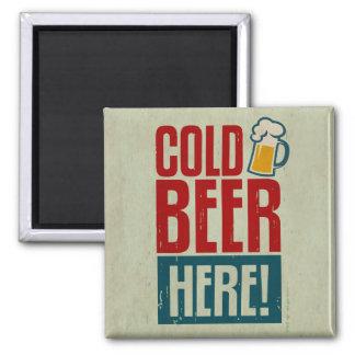 Cold Beer Magnet