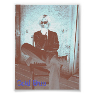 Cold Blue Poster - Jimmy