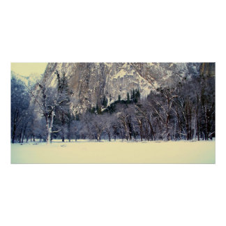 Cold Day In Yosemite Poster