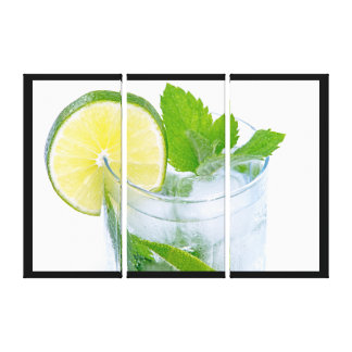 Cold drink canvas print