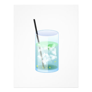 Cold Drink Personalized Letterhead