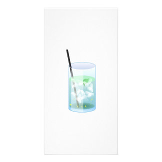 Cold Drink Photo Card