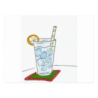 Cold drink postcard