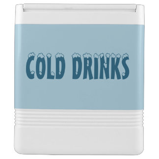 Cold Drinks Igloo Can Cooler