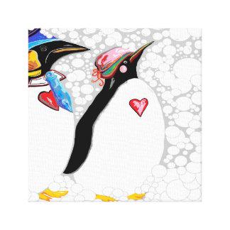 Cold Feet Warm Heart Canvas Print