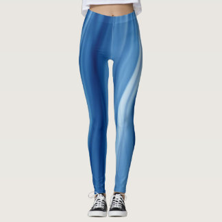 Cold Fire III Leggings by Artist C.L. Brown