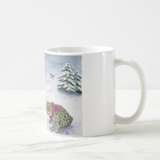 """""""Cold Frogs"""" by Deanna Bach Art Coffee Mug"""
