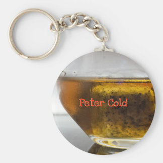 Cold Glass Of Whiskey Keychain