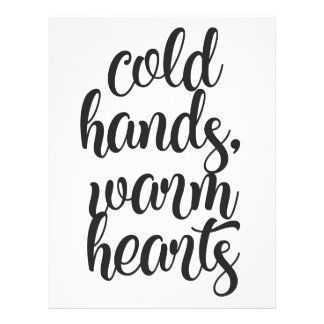 Cold Hands Warm Hearts Letterhead