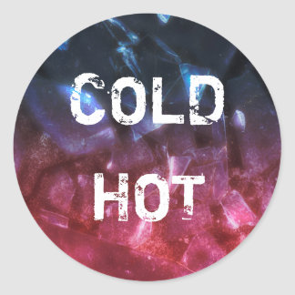 Cold & Hot - Sticker