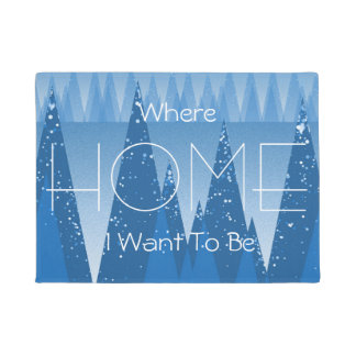 Cold In The Forest ! Doormat