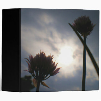 Cold Light of Morning Customizable Binder