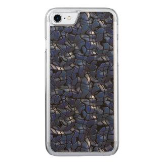 Cold Liquid Metal Carved iPhone 8/7 Case