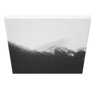 cold mountain canvas print